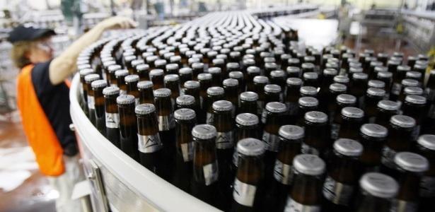 fábrica de cervejas