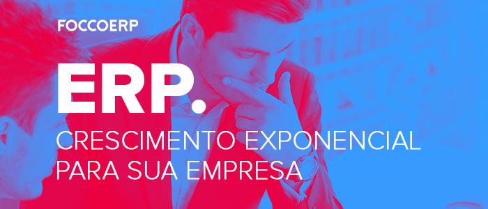 ERP Crescimento exponencial para sua empresa - Baixe o e-book
